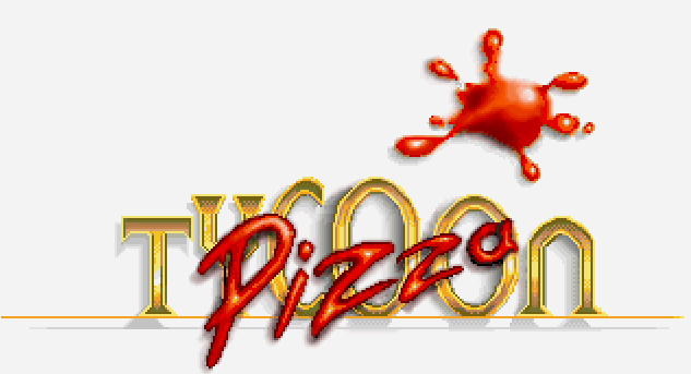 Pizza Tycoon Game Logo